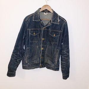 American apparel denim jacket euc